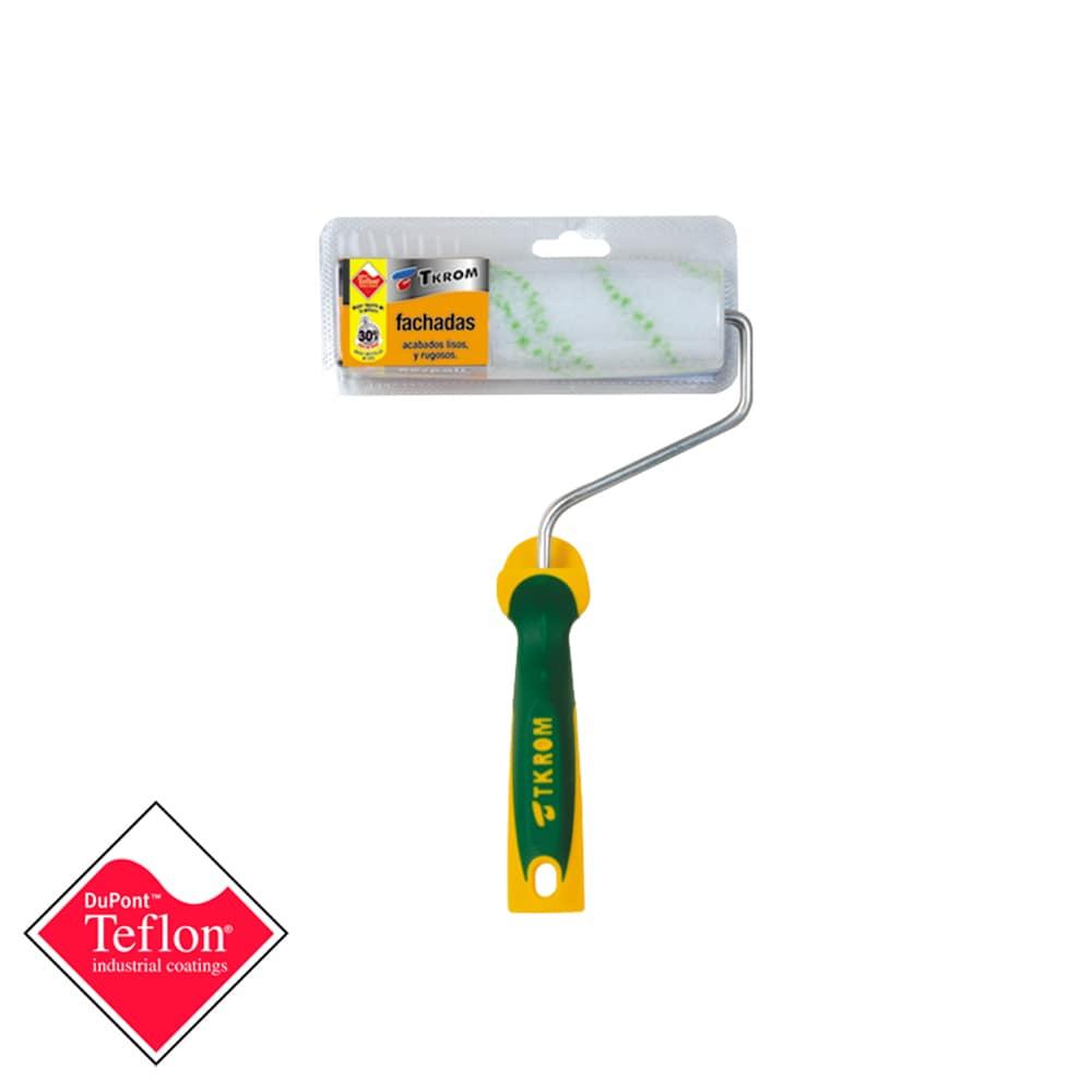 Ruloto teflonado fachadas termofusión 1 | Potspintura.com