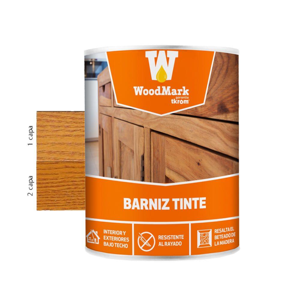 Barniz tinte brillante Woodmark color roble claro 1   Potspintura.com