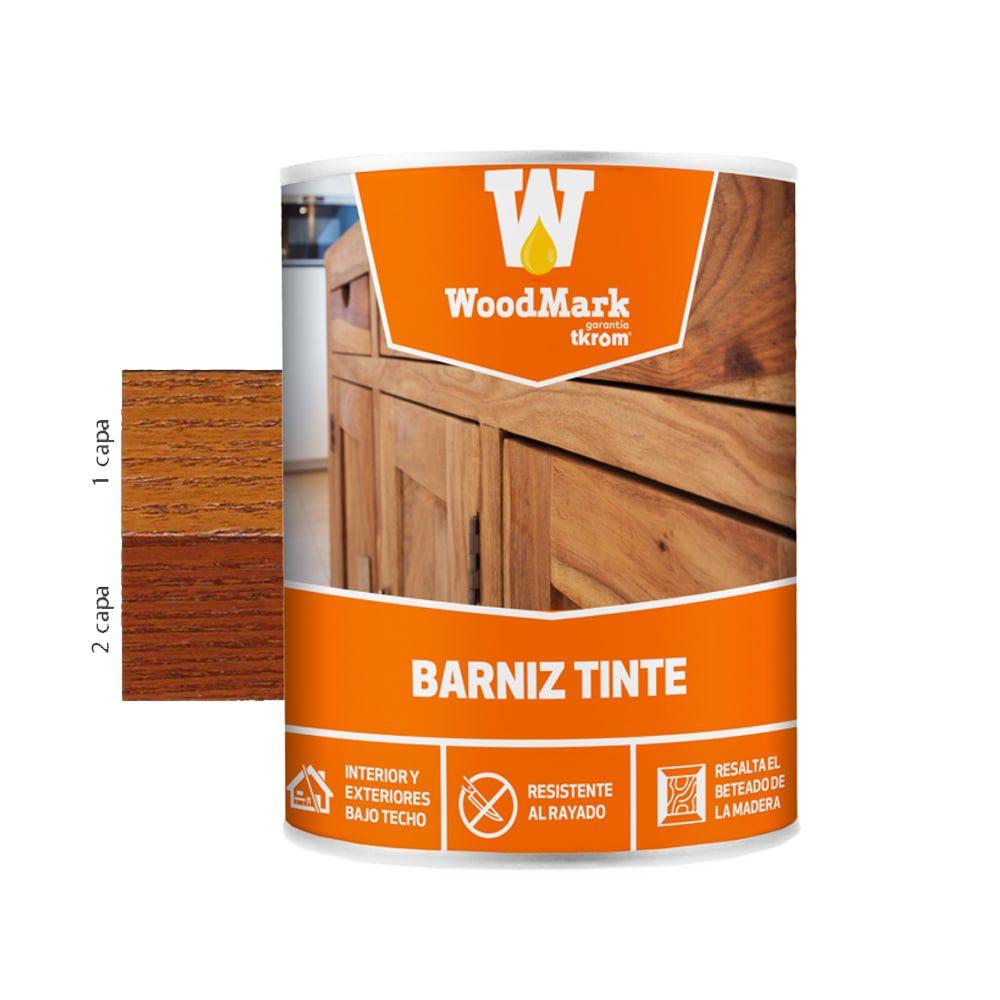 Barniz tinte brillante Woodmark color roble oscuro 1 | Potspintura.com