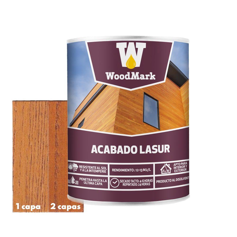 Lasur color caoba Woodmark de acabado satinado 1 | Potspintura.com