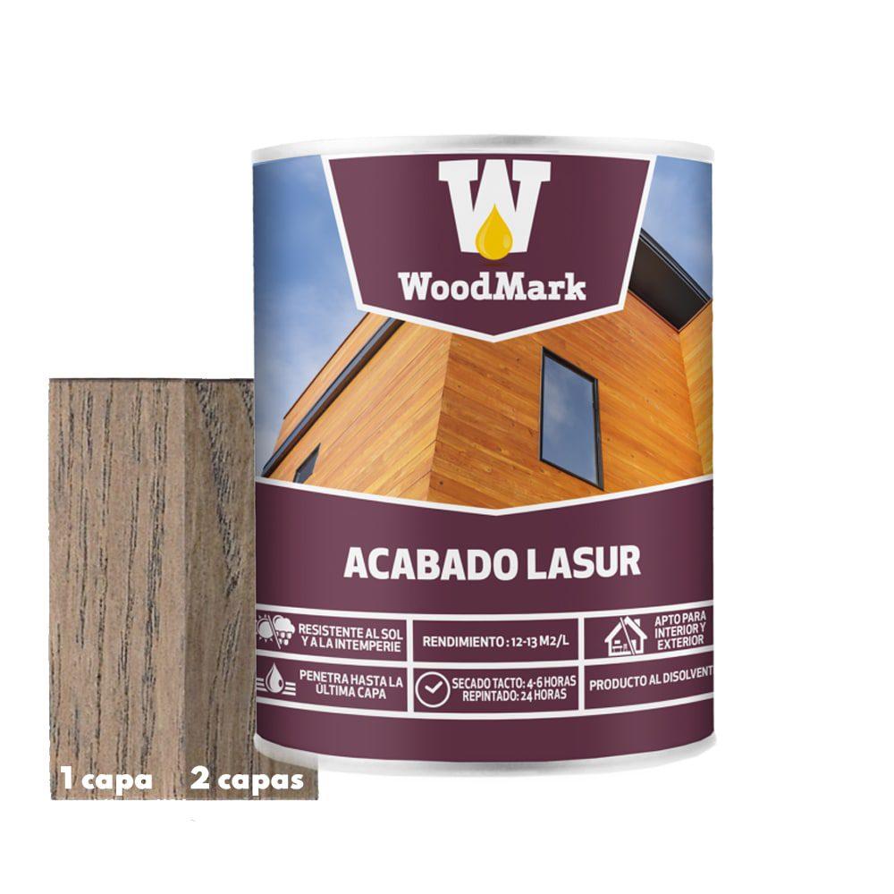 Lasur color Ébano Woodmark de acabado satinado 1 | Potspintura.com