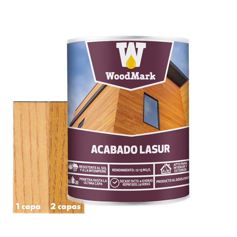 Lasur color roble Woodmark de acabado satinado 1 | Potspintura.com