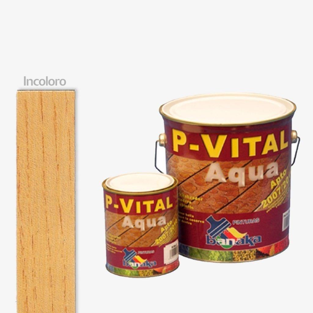Protector para madera color roble P-Vital Aqua de Banaka 1   Potspintura.com