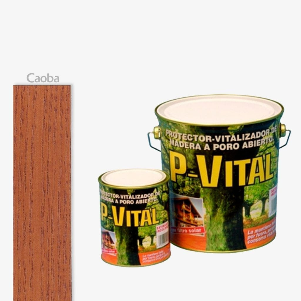 Protector para madera mate color caoba P-Vital de Banaka 1   Potspintura.com