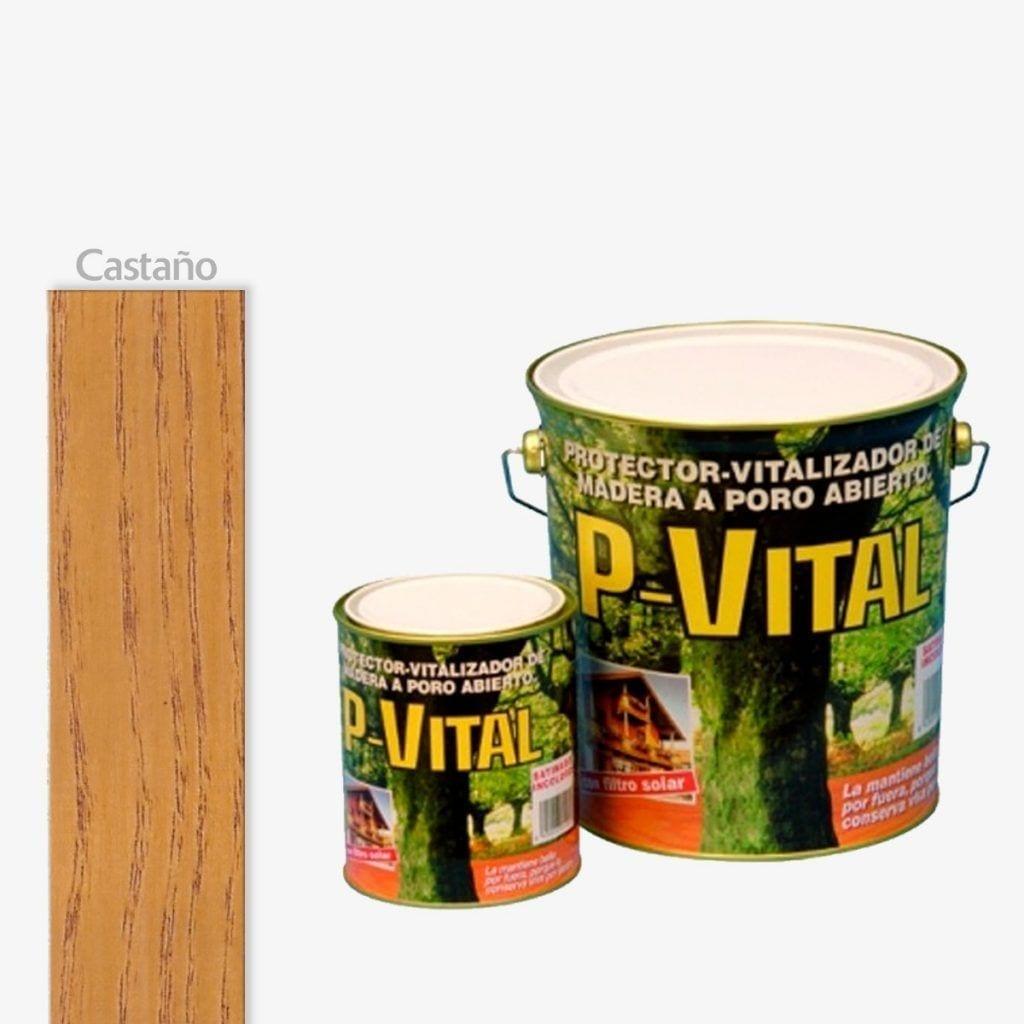 Protector para madera mate color castaño P-Vital de Banaka 1 | Potspintura.com