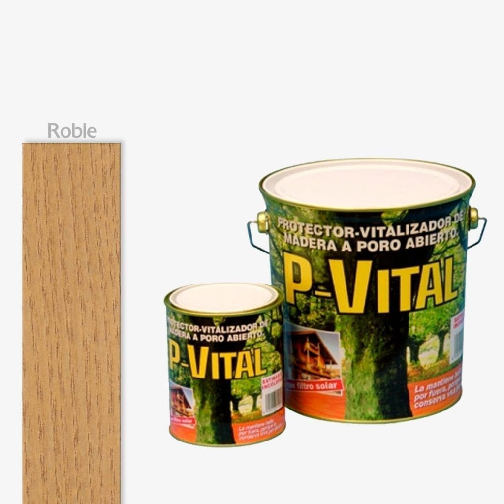 Protector para madera mate color roble P-Vital de Banaka 1 | Potspintura.com