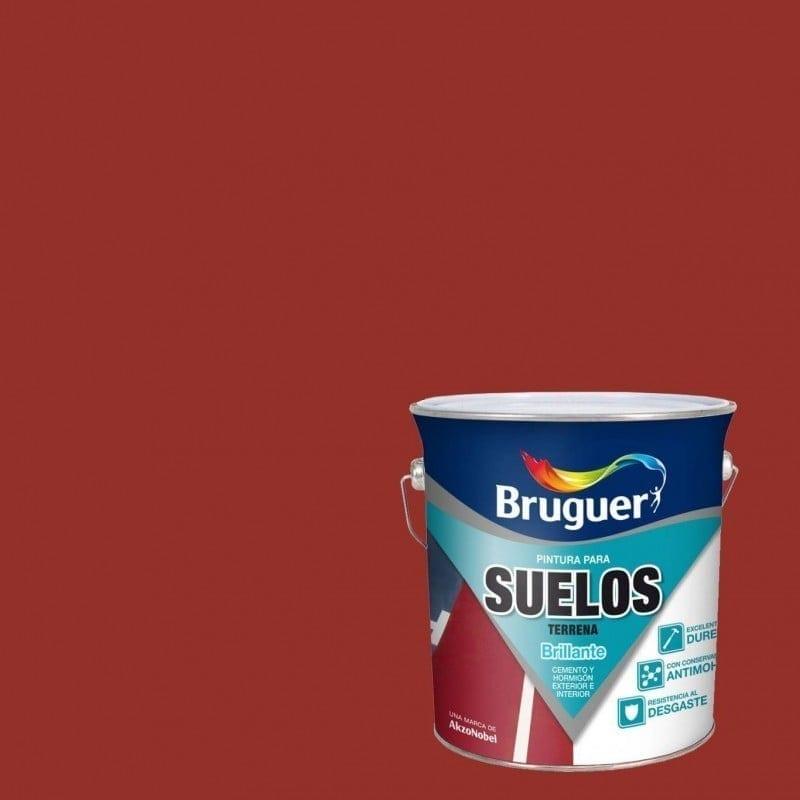 Terrena de Bruguer - Rojo 1   Potspintura.com