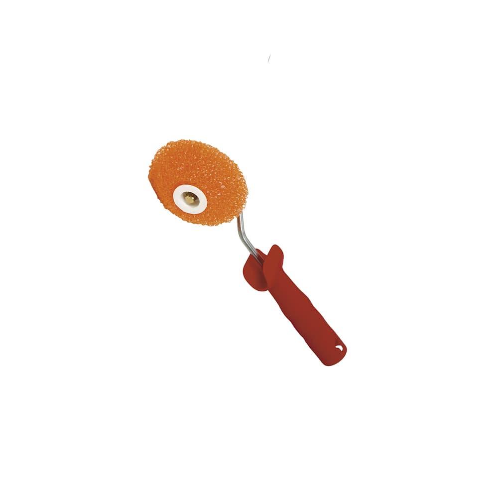 Rodillo espuma naranja poro 3 artesanal rinconero 1 | Potspintura.com