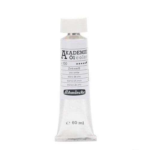 Pintura al óleo en tubo blanco de zinc Akademie ÖL color de Schmincke 1   Potspintura.com