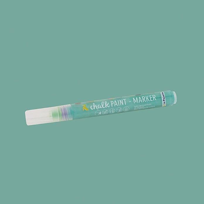 Rotulador chalk paint marker de La Pajarita verde hielo 1 | Potspintura.com