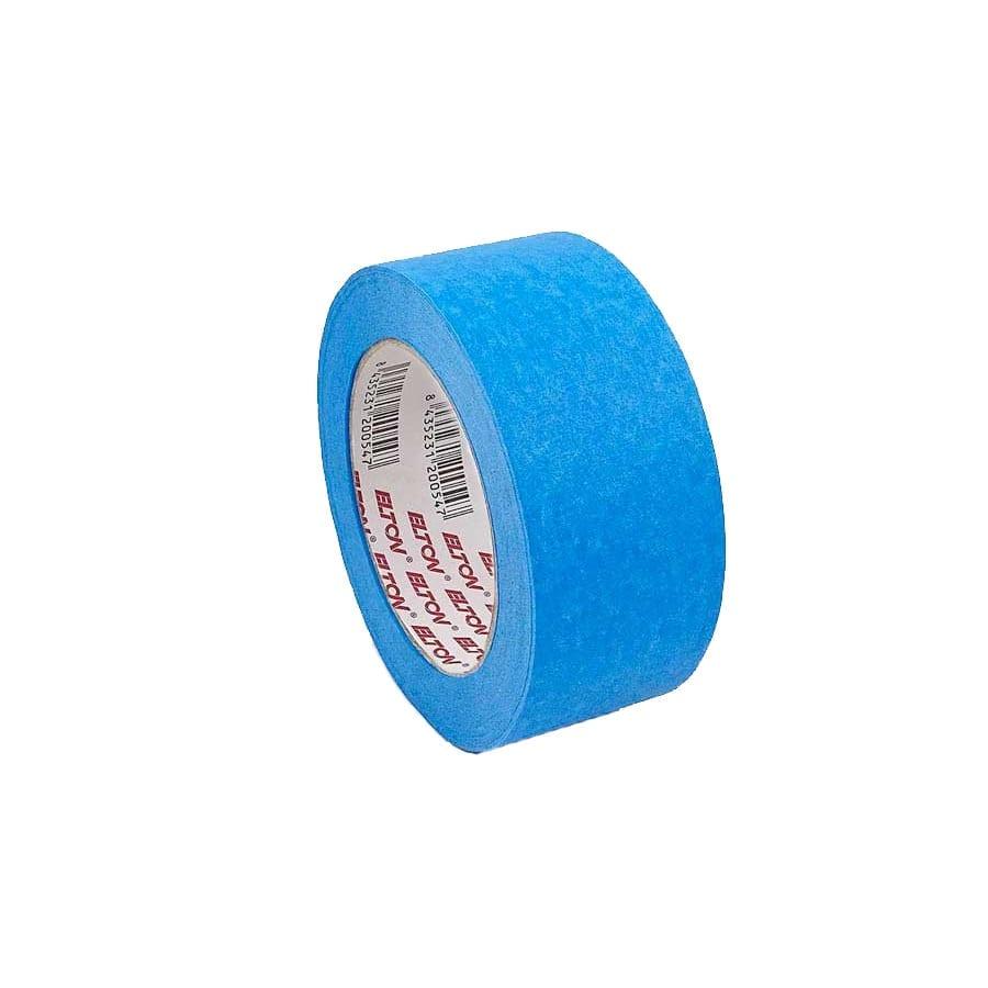 Cinta papel adhesiva azul Elton Krepp Exteriores 45 metros 2   Potspintura.com