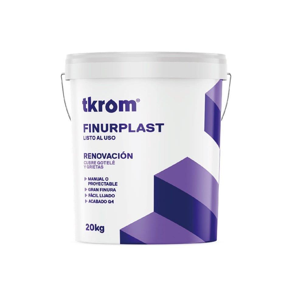 Masilla interior lista al uso Finurplast renovación blanca 20kg 1 | Potspintura.com