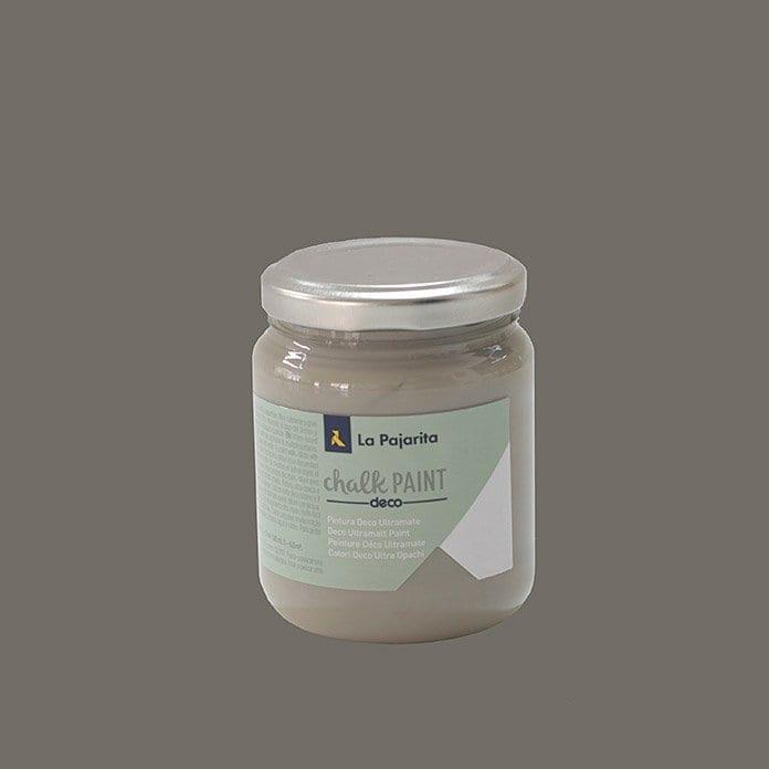 Pintura a la tiza ultramate de La Pajarita gris vintage 1 | Potspintura.com