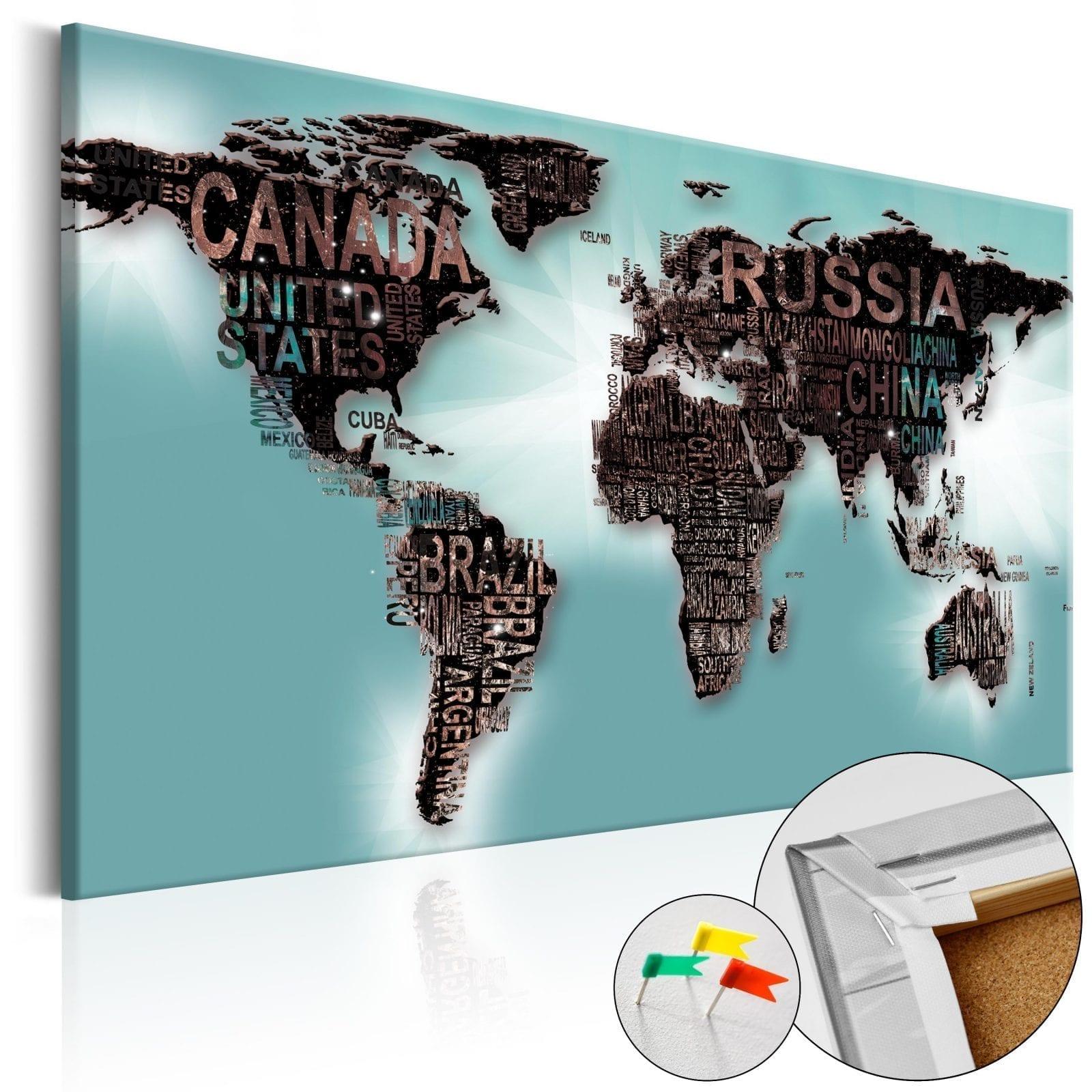 Tablero de corcho - Subtlety of the World 1   Potspintura.com