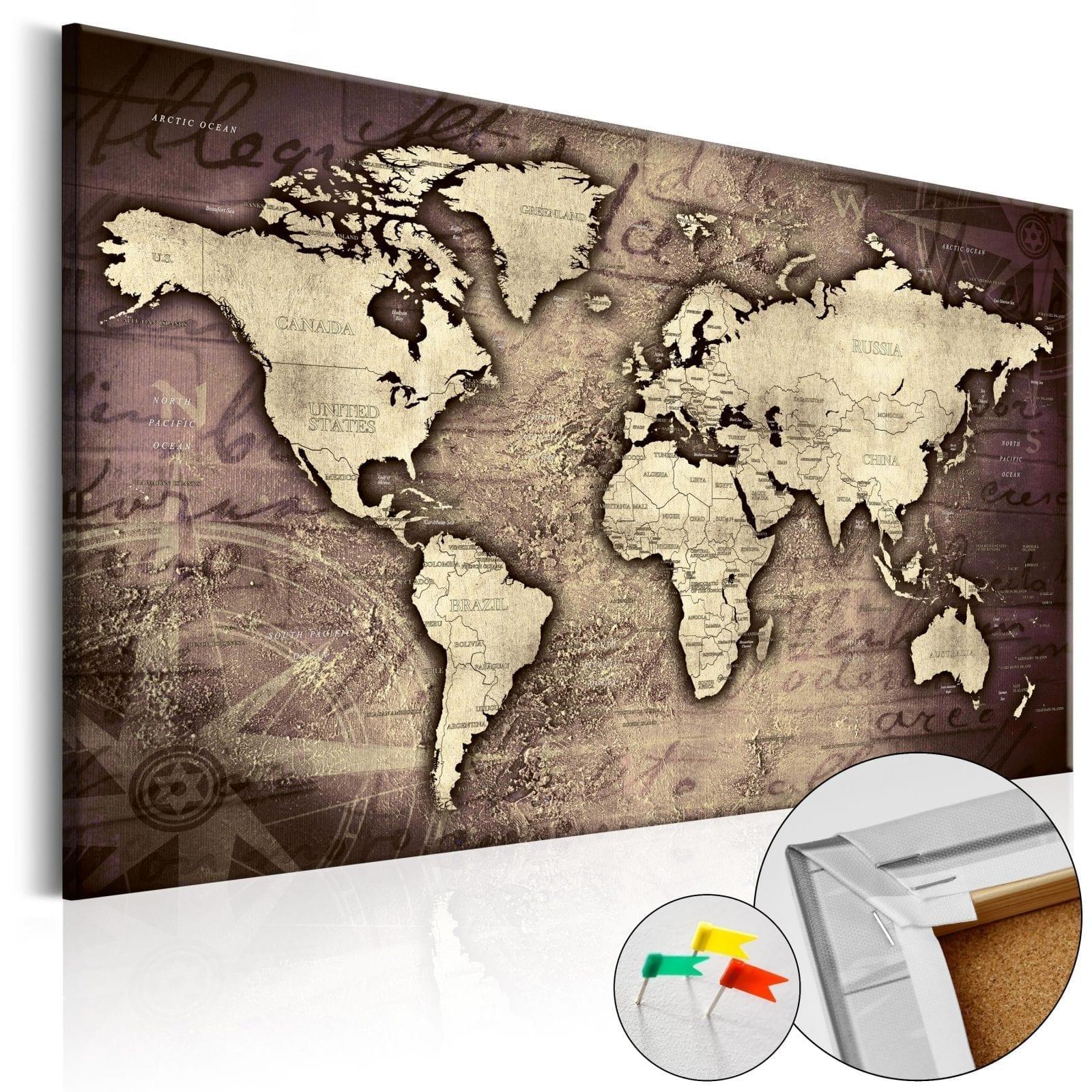 Tablero de corcho - Precious World 1   Potspintura.com