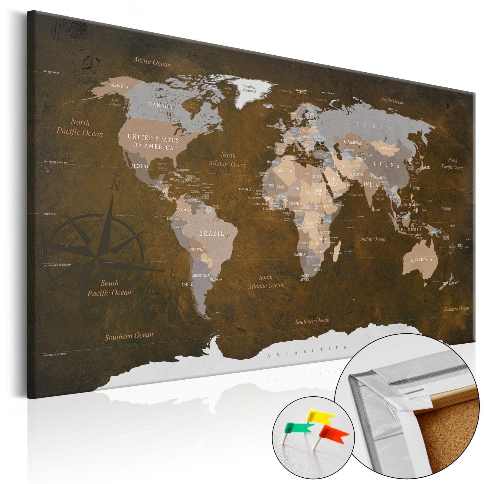 Tablero de corcho - Cinnamon Travels 1   Potspintura.com