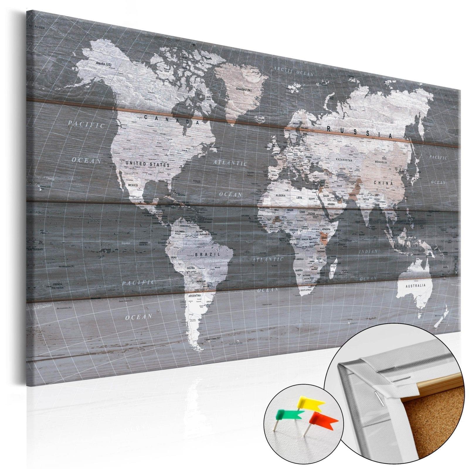Tablero de corcho - Grey Earth 1 | Potspintura.com