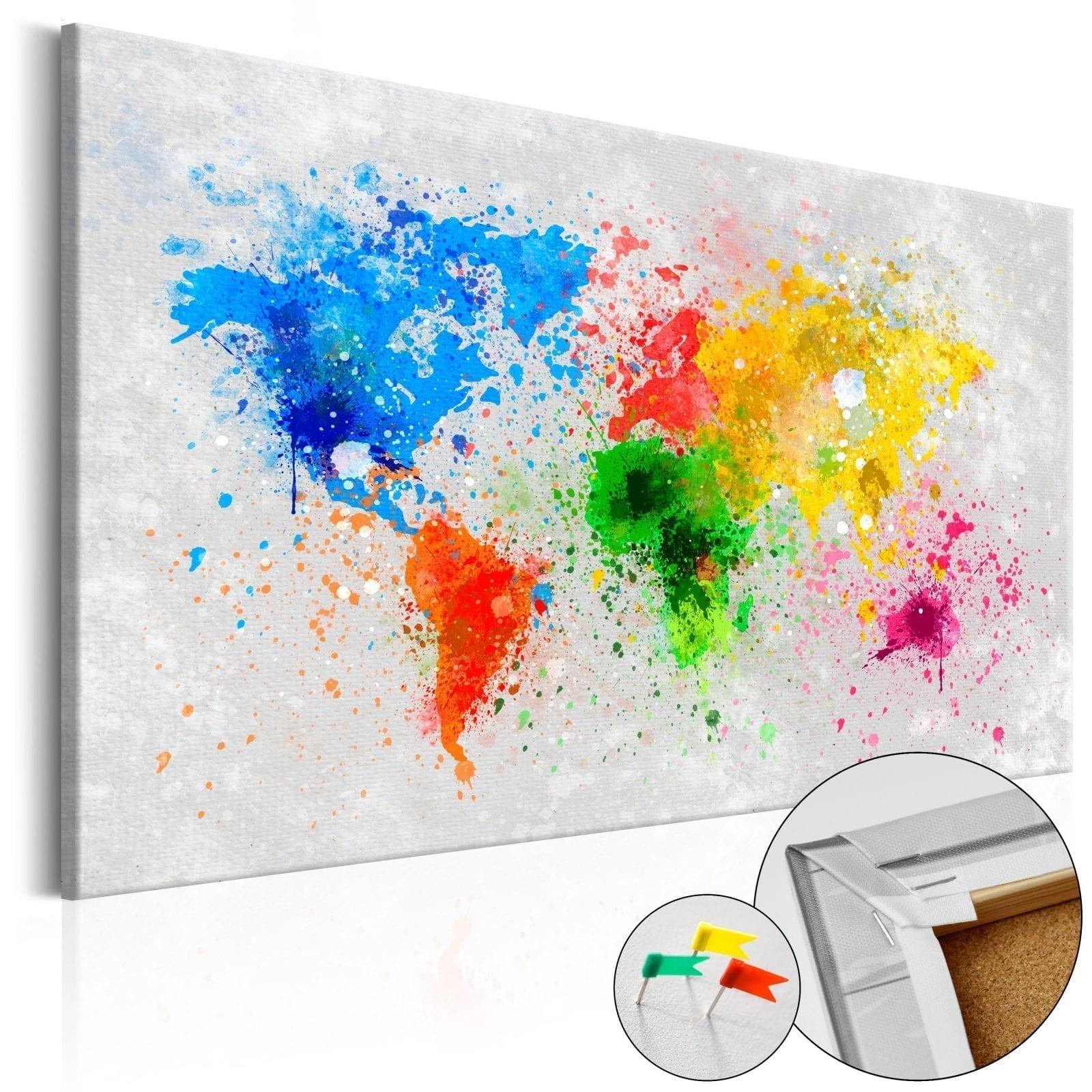 Tablero de corcho - Expresionismo mundial 1 | Potspintura.com