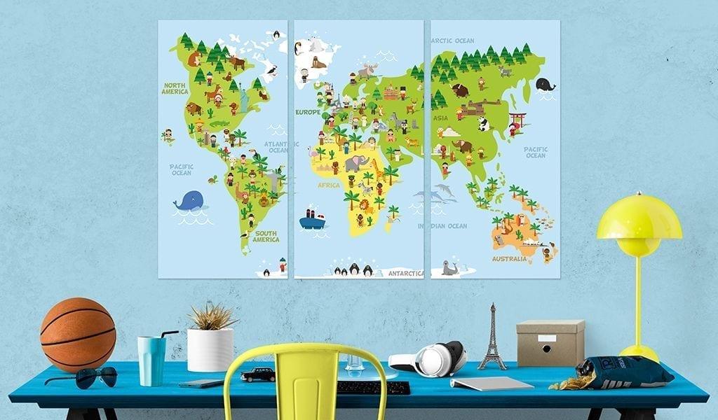 Tablero de corcho - Children's World 2   Potspintura.com