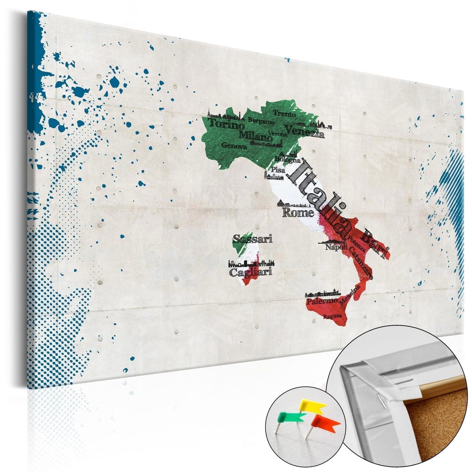 Tablero de corcho - Italy 1 | Potspintura.com