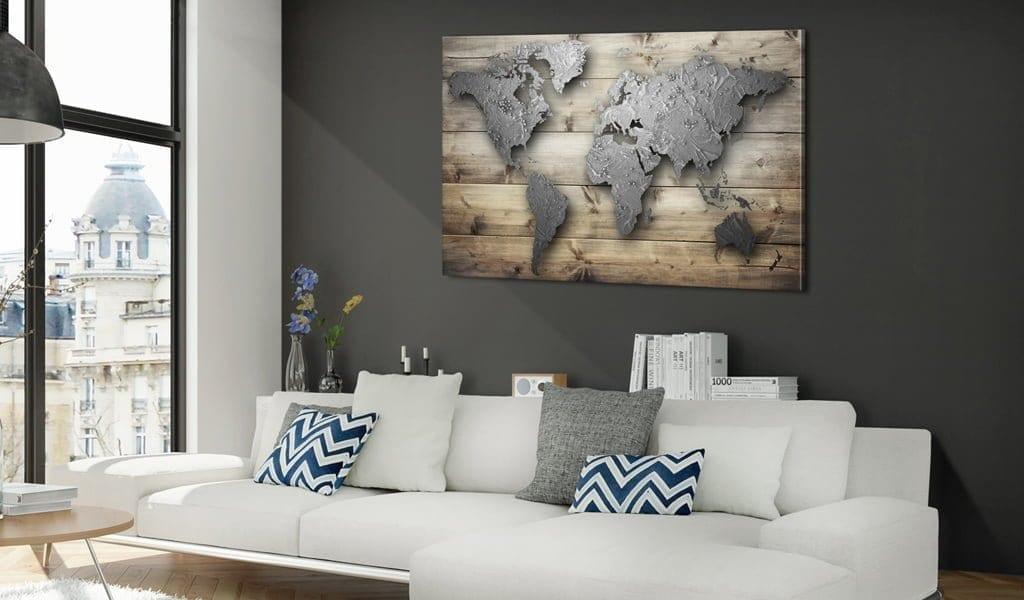 Tablero de corcho - Silver World 2 | Potspintura.com