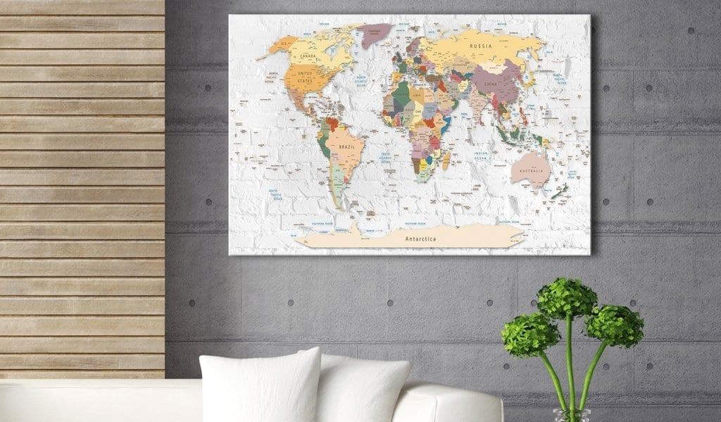 Tablero de corcho - World's Walls 2   Potspintura.com