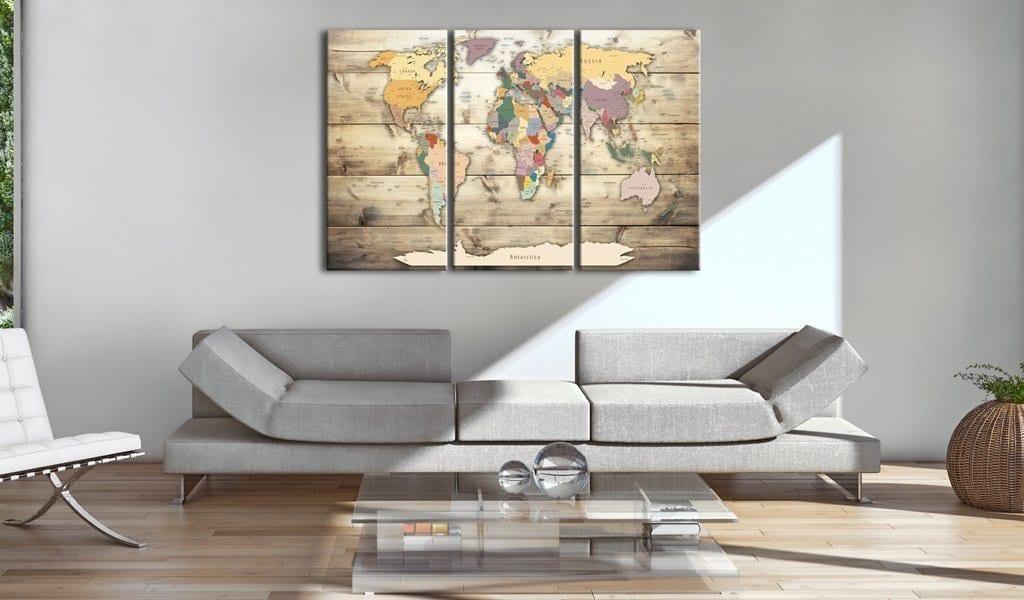 Tablero de corcho - Map of Dreams 2 | Potspintura.com