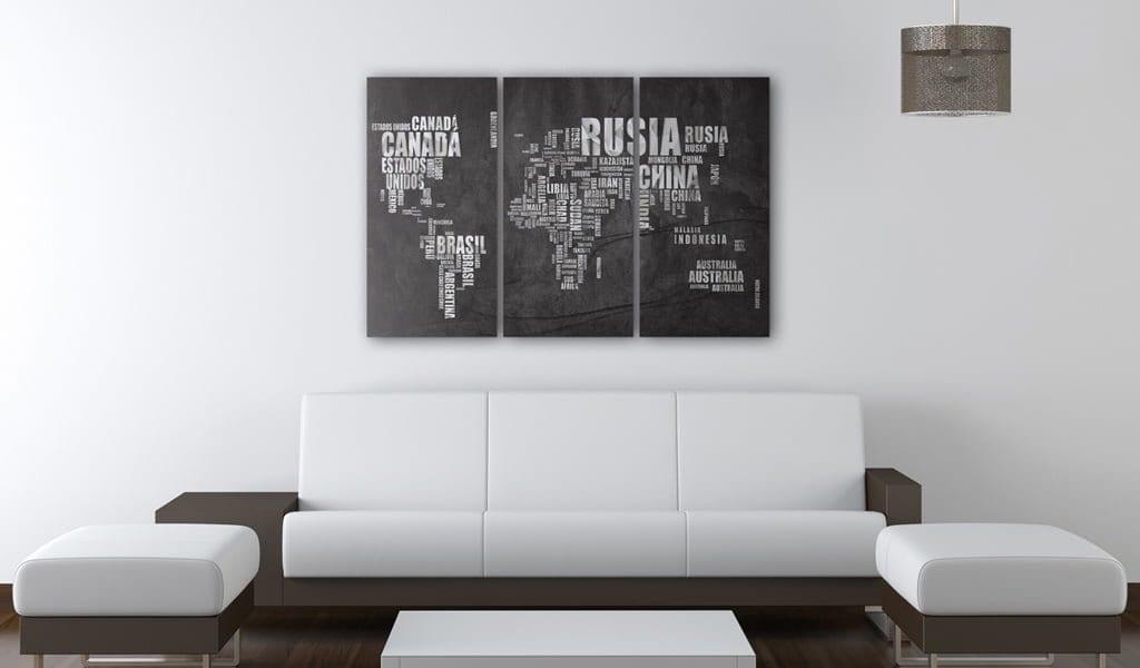 Tablero de corcho - El Mundo 2 | Potspintura.com