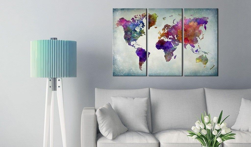 Tablero de corcho - World in Colors 2 | Potspintura.com
