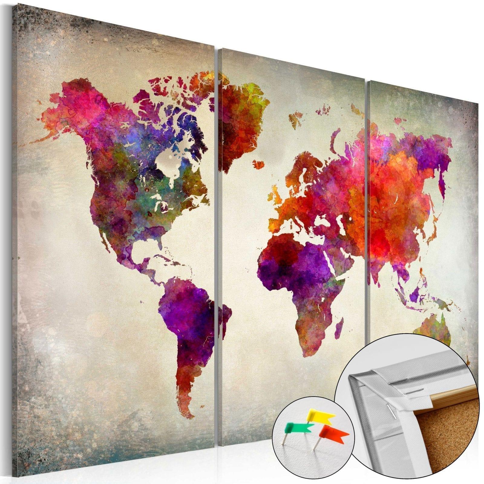Tablero de corcho - Mosaic of Colours 1 | Potspintura.com