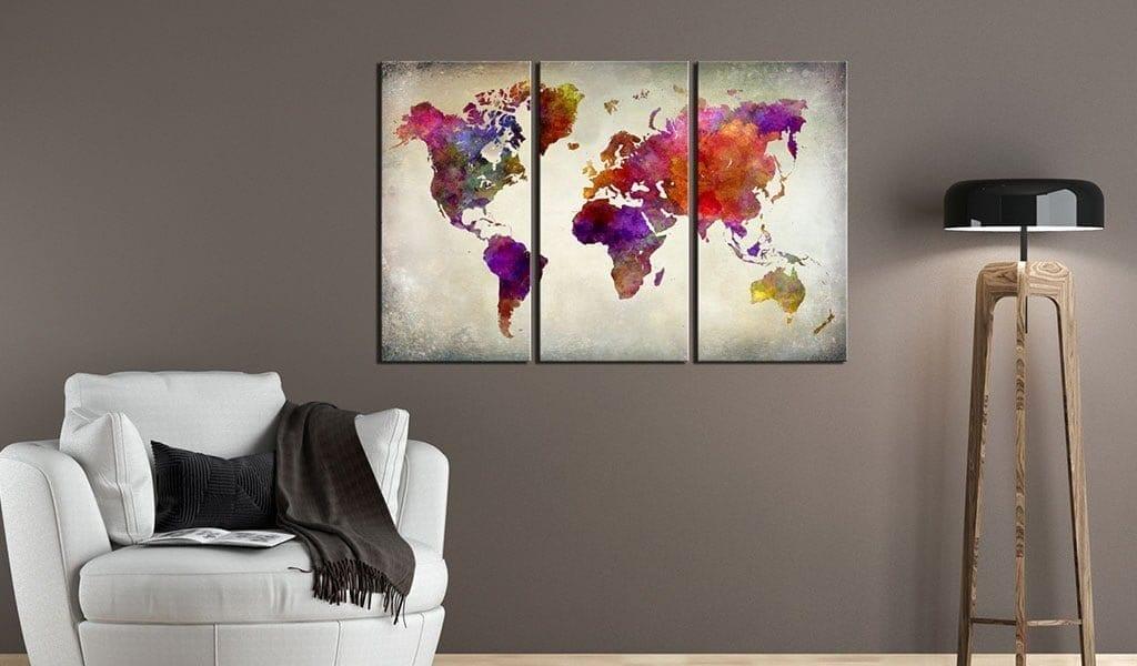 Tablero de corcho - Mosaic of Colours 2 | Potspintura.com