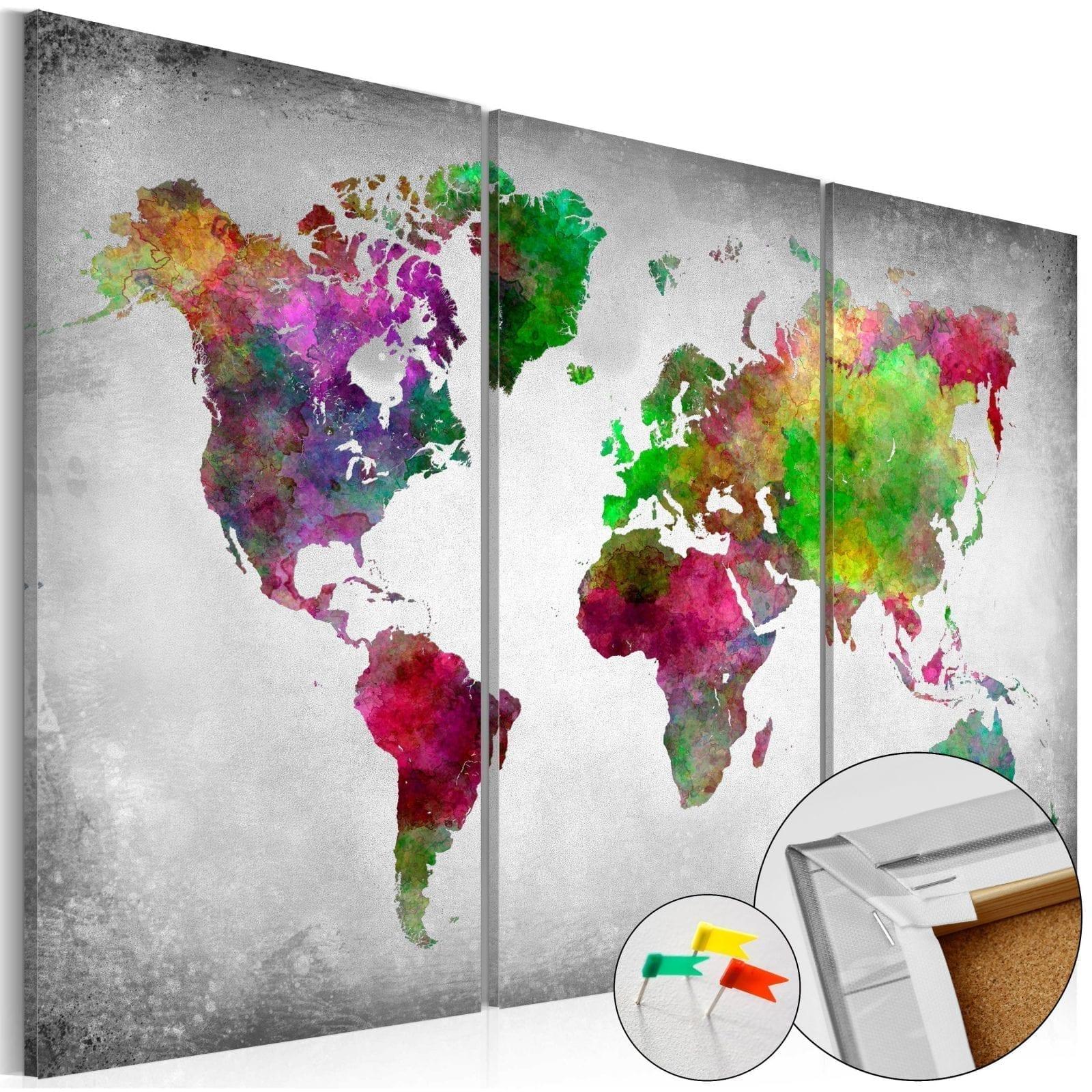 Tablero de corcho - Diversity of World 1 | Potspintura.com