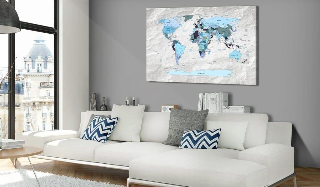 Tablero de corcho - Blue Pilgrimages 2 | Potspintura.com