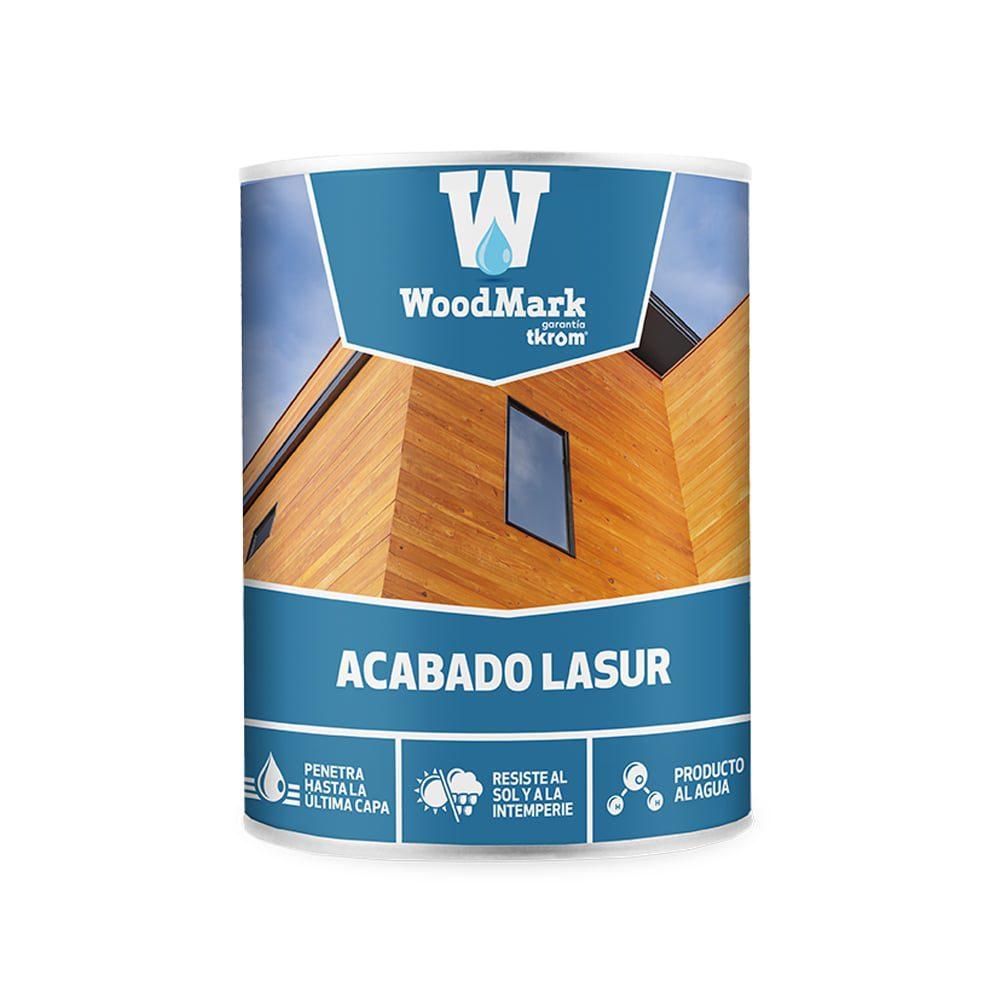 Lasur al agua incoloro de acabado satinado Woodmark 1   Potspintura.com