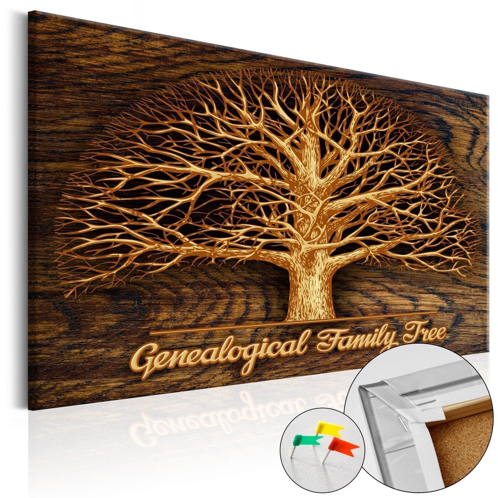 Tablero de corcho - Family Tree 1   Potspintura.com