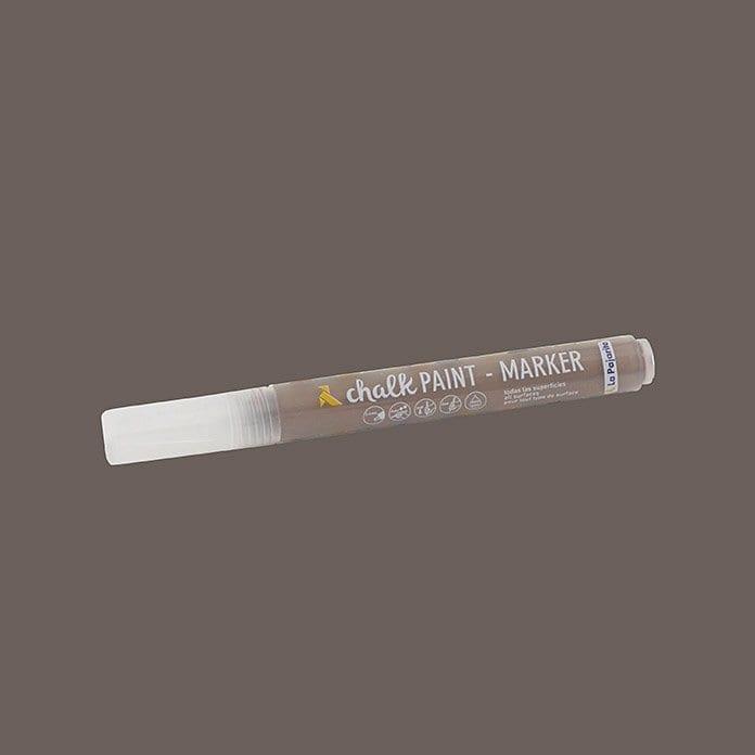 Rotulador chalk paint marker de La Pajarita marrón glacé 1 | Potspintura.com