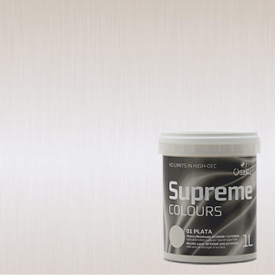 Pintura metalizada aluminio 1002 Osaka Supreme Colours 3 | Potspintura.com