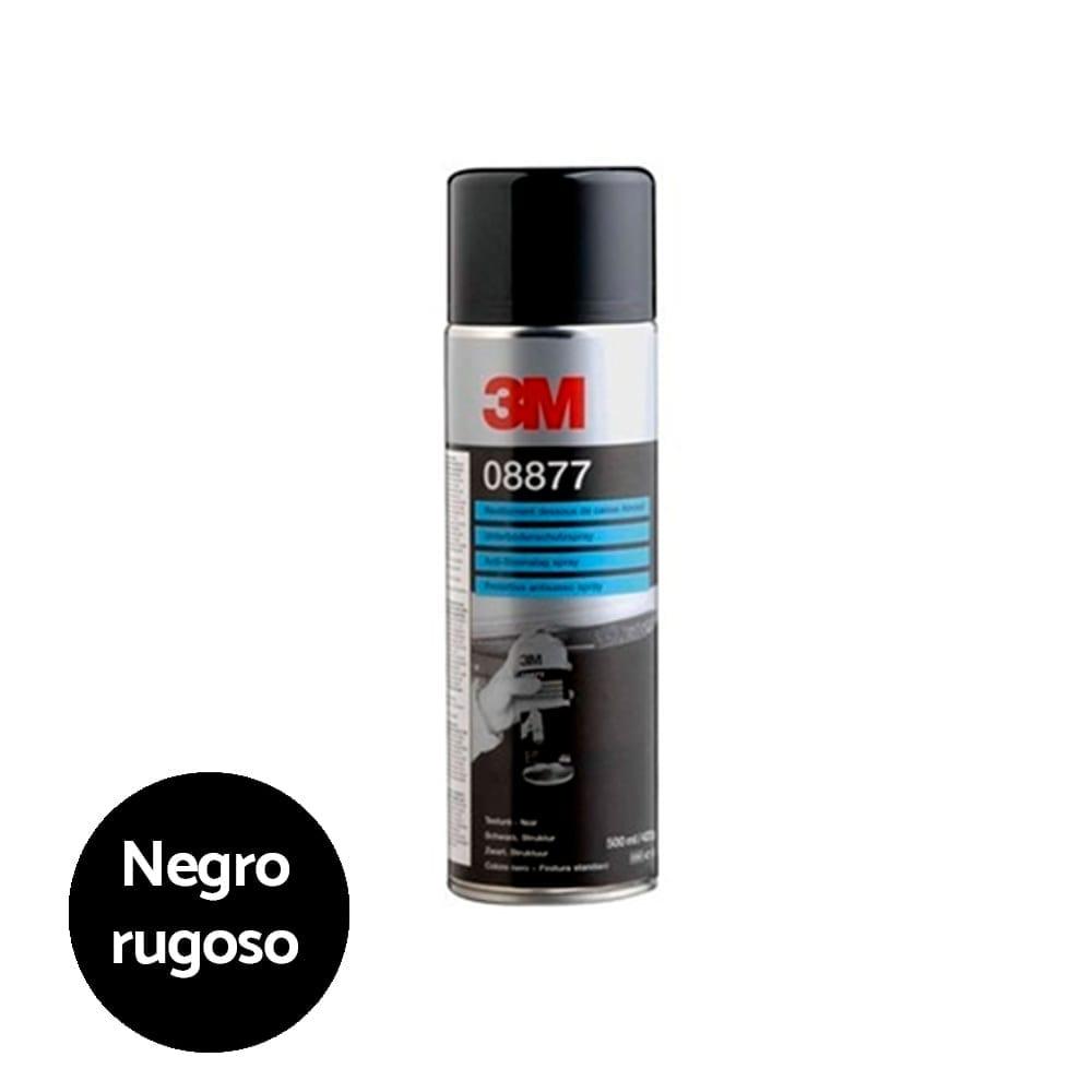 Spray antigravilla negro rugoso 3M 1   Potspintura.com