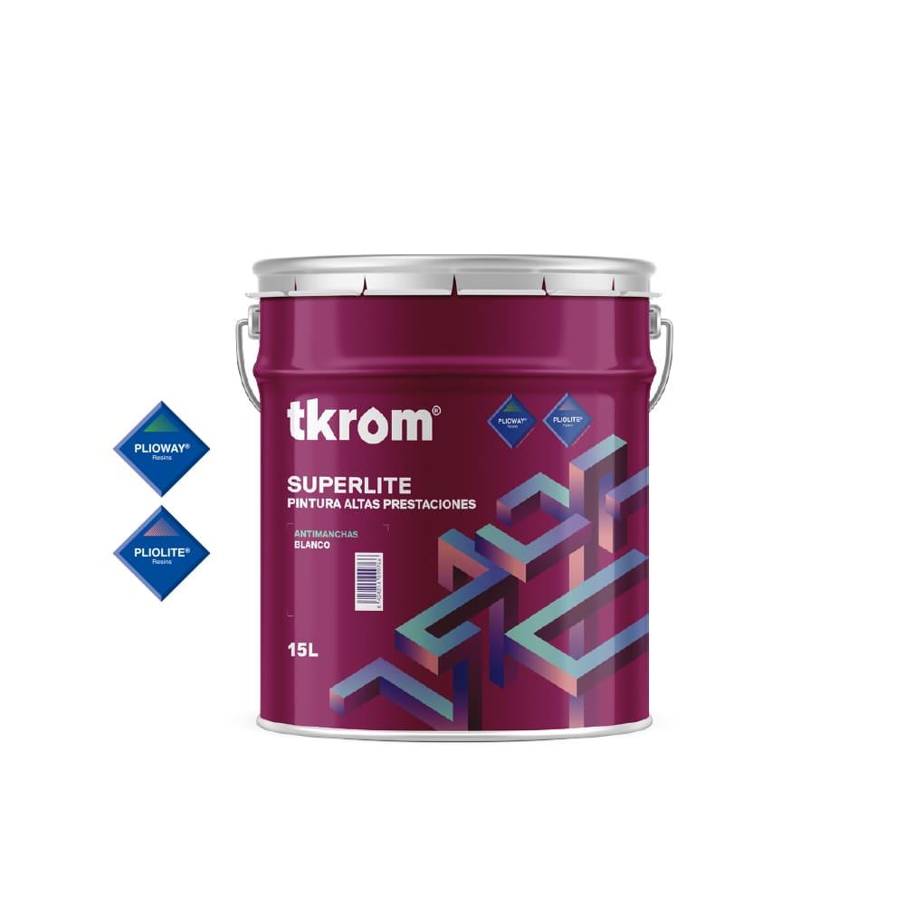 Pintura Tkrom Superlite antimanchas con Plioway® 1 | Potspintura.com