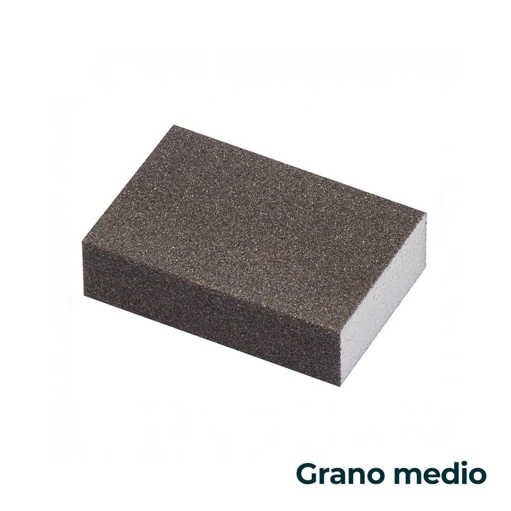 Taco de lija abrasivo medio Tkrom 1   Potspintura.com