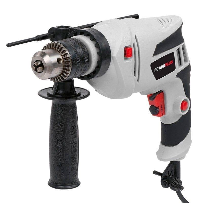 Taladro percutor Powerplus 500W 2 | Potspintura.com
