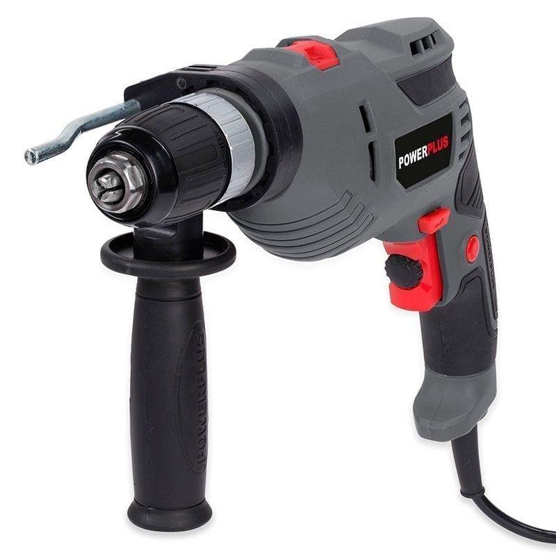 Taladro percutor Powerplus 720W 2   Potspintura.com