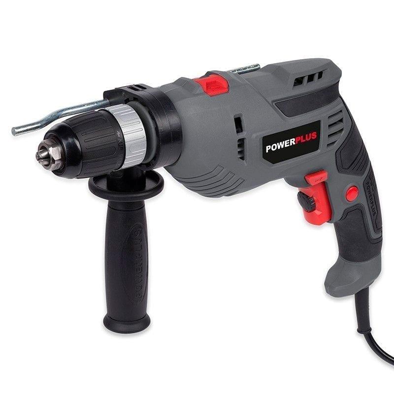 Taladro percutor Powerplus 720W 1   Potspintura.com