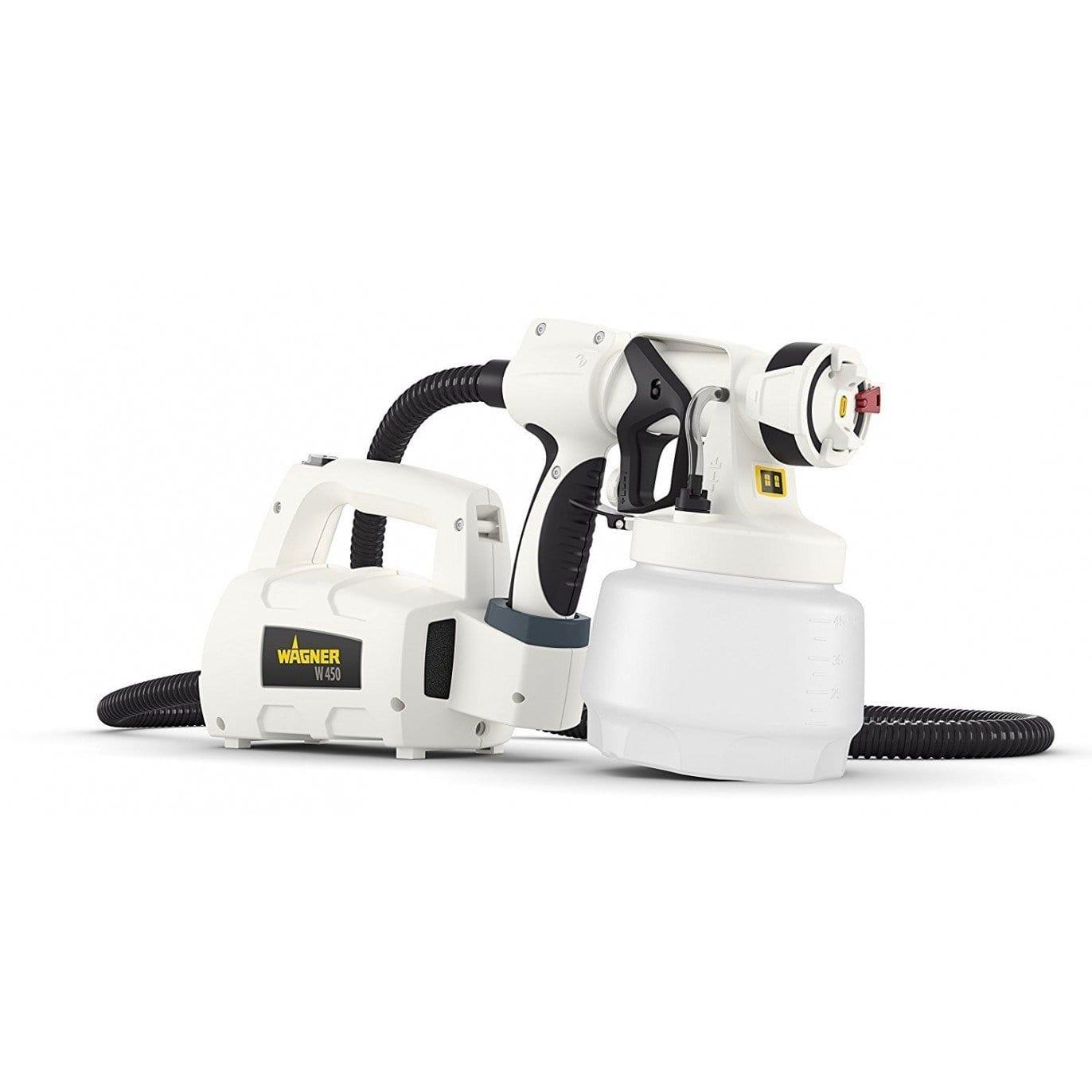 Turbina de aire caliente WAGNER W450 y spray + regalo frontal Brilliant 600 ml. 1 | Potspintura.com