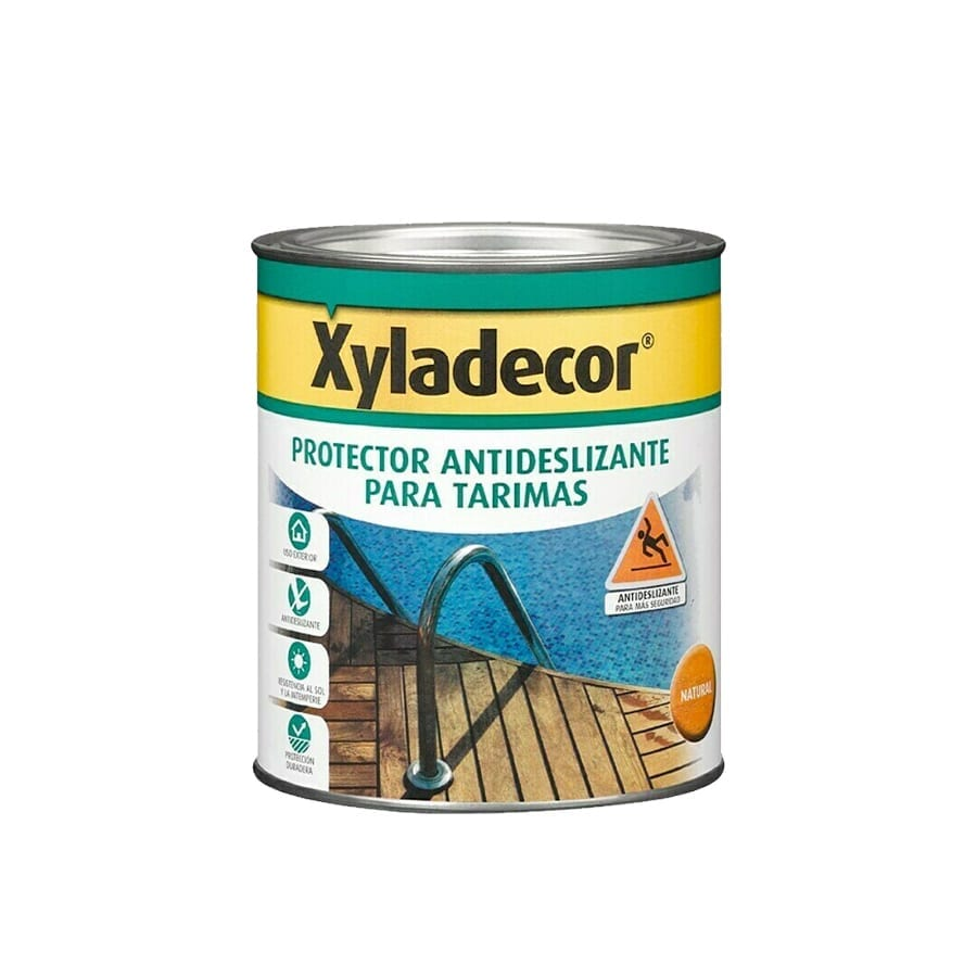 Protector antideslizante para tarimas Xyladecor teca satinado 1 | Potspintura.com